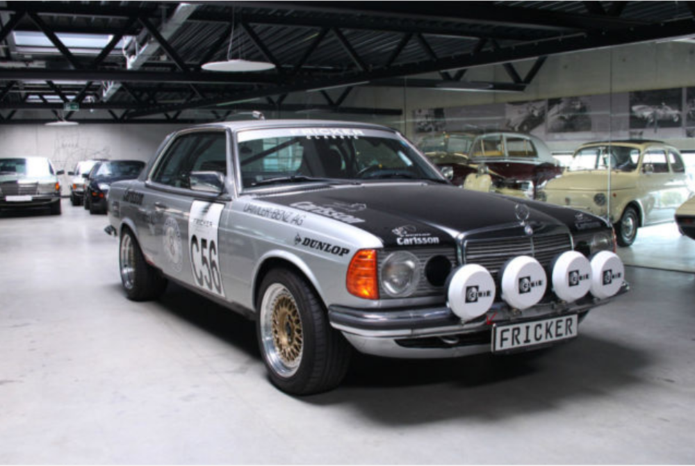 W123 Mercedes Benz Rally Model Acropolis 1980 Paris Dakar 1981